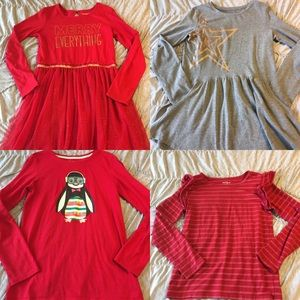 Lot of 4 Cat and Jack Girls size XL